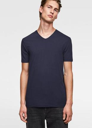 Базовая футболка ZARA MAN , Slim Fit !