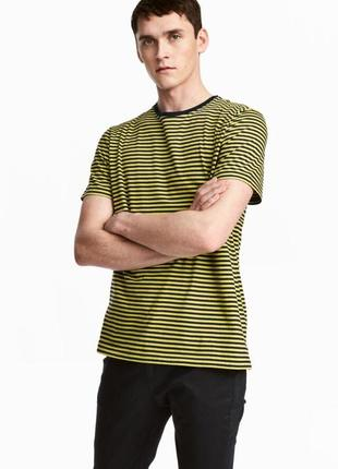 Полосатая футболка h&m !