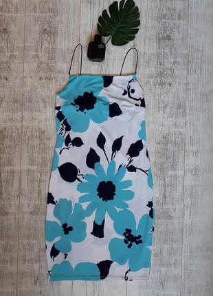 Сарафан платье в цветы