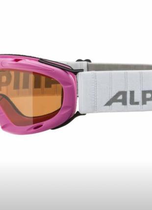 Лыжная маска очки горнолыжные для лиж alpina