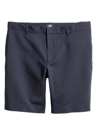 Синие шорты h&m , slim fit !