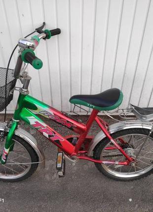 Детский велосипед rock tpt 14 колеса