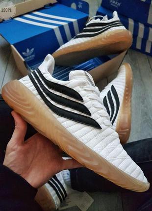 Adidas sobakov white/black🔺мужские кроссовки адидас собаков бе...