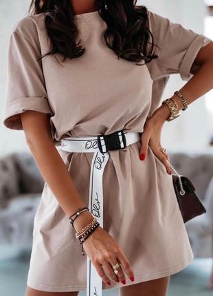 Платье   пояс