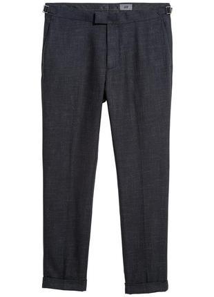 Костюмные брюки h&m premium quality , slim fit!