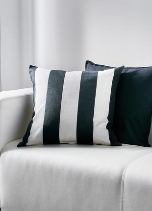 Декоративная подушка: чехол ikea vargyllen 50x50см / икеа ворг...