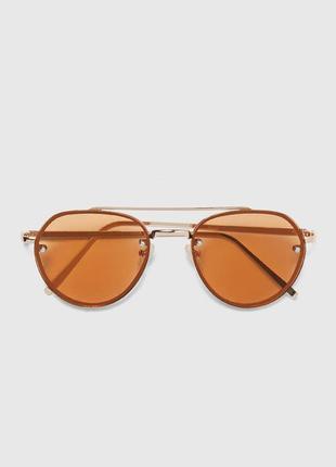 Солнцезащитные очки-авиаторы zara man !