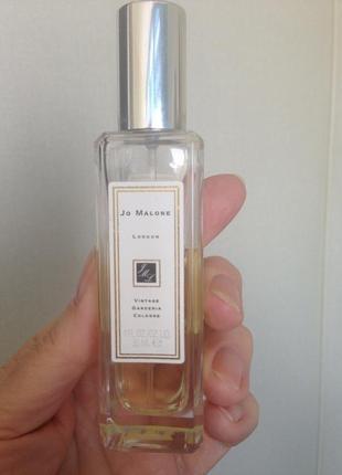 Аромат в остатке 18мл  jo malone vintage gardenia cologne унисекс