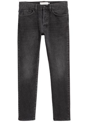 Чёрные джинсы h&m premium quality , slim jeans !