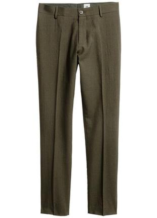 Шерстяные брюки h&m studio collection !