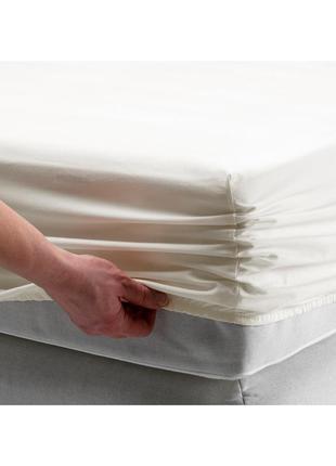 Простыня на резинке SOMNTUTA IKEA из перкаля / семнтута икеа !