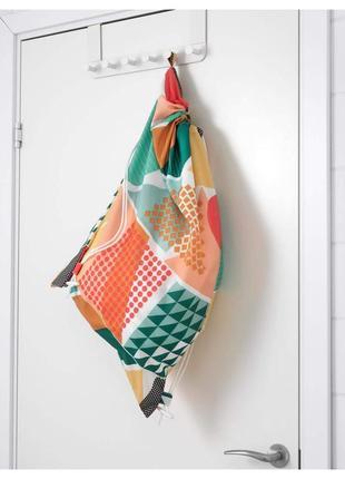 Ikea snajda: сумка для грязного белья, разноцветная