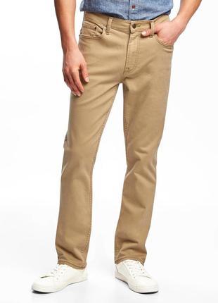 Джинсы slim built-in flex twill five-pocket pants for men old ...