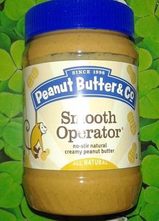 Арахисовое масло Peanut Butter&Co, США (454 г.) Америка