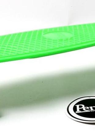 Penny Board. Green.+защита+шлем. Светящиеся колеса!