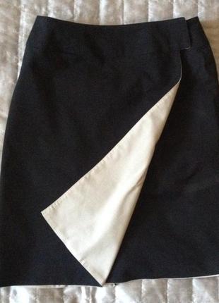 Двухсторонняя юбка на запах, sм