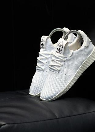 Adidas x pharrell williams tennis hu primeknit white