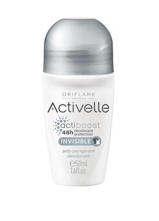 Activelle шариковый дезодорант-антиперспирант без белых следов...
