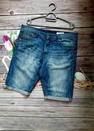 Стильные шорты джинсовые мужские