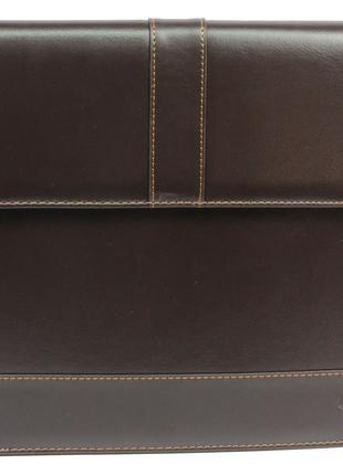Папка из эко кожи 4U Cavaldi PB0805 brown, коричневая