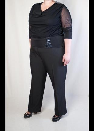 Классические брюки большого размера amelie mey