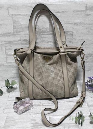 Элитная кожаная сумка швейцарского люкс-бренда mollerus