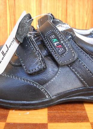 Кожаные кроссовки туфли Kellaifeng