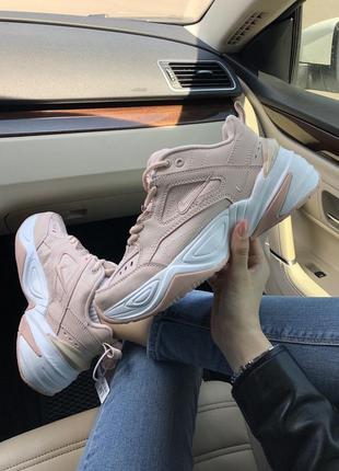 Nike m2k tekno pink розовые ♦ женские кроссовки ♦ весна лето о...
