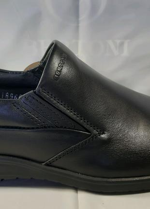 <<Кожаные туфли BERTONI, стиль комфорт.41,42,43,44,45.