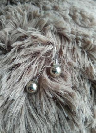 Сережки гвозди, шарики