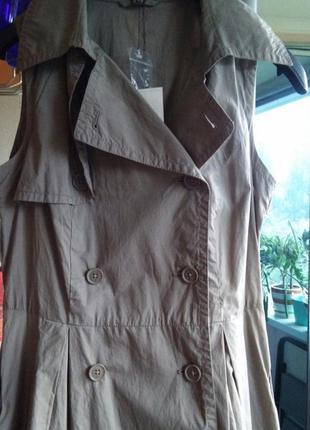 Новое стильное платье в стиле милитари с-м