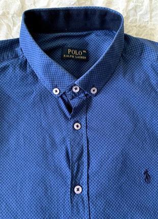 Мужская рубашка polo ralph lauren xxl