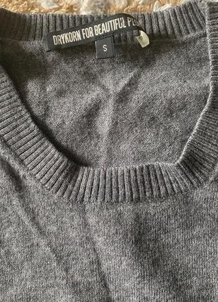 Базовый свитер шерсть немецкого премиум бренда drykorn for bea...