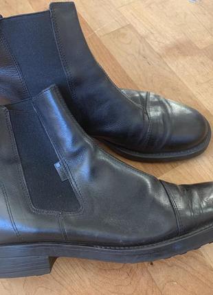 Кожаные ботинки челси esprit 40