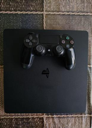 Sony PlayStation 4 Slim 500Gb + 44 игры GTA BF1 Witcher Fallout D