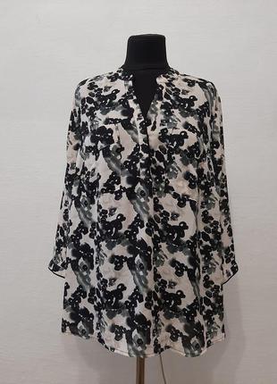 Стильная модная блуза большого размера