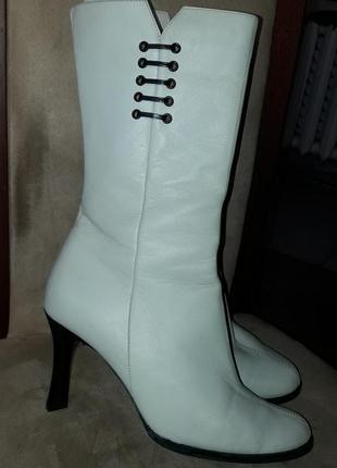 Сапоги батильоны кожаные ботинки