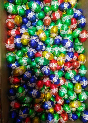 Шоколадные итальянские конфеты яйца Sokado 1кг