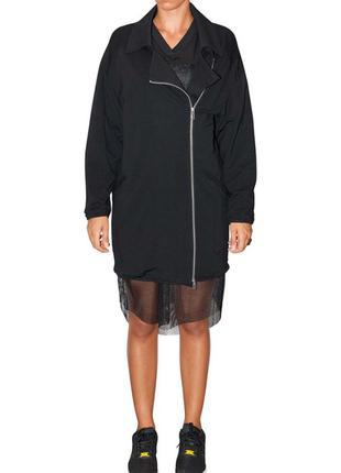 Черная легкая куртка ветровка итальянского бренда 5 Preview