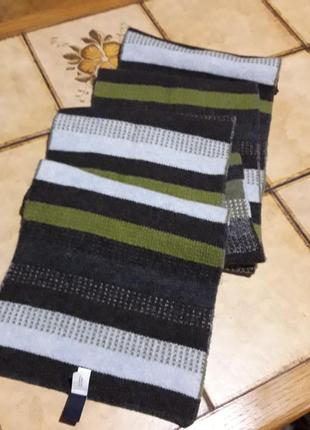 Шерстяной 100% lambswool двойной шарф