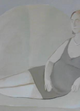 """Картина """"Танюша на диване"""""""