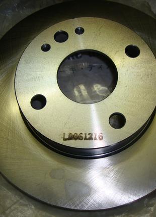 Новые тормозные диски(передние) на Mazda 323