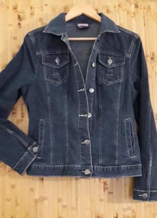 Джинсовая куртка брендовая blue motion