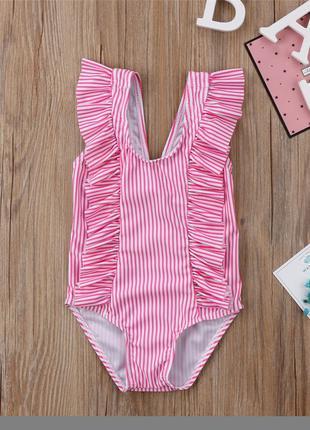 Детский купальник для Новорожденной девочки xLOVEx от 0-24месяцев