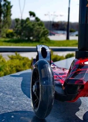 Самокат Maraton Maxi,свет колес