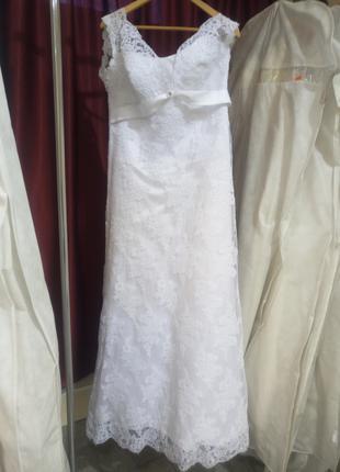Свадебное платье, размер 48-50