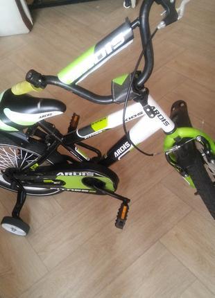 """Велосипед детский  Ardis Fitnes 16"""" Черный/зеленый Б/У 1000 грн."""