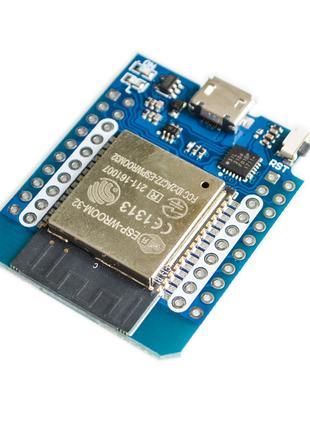 WiFi + Bluetooth модуль Wemos Live D1 Mini ESP-32 ESP32