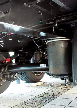 Ремонт пневмоподушки, пневмоподвески на  микроавтобус, грузовик