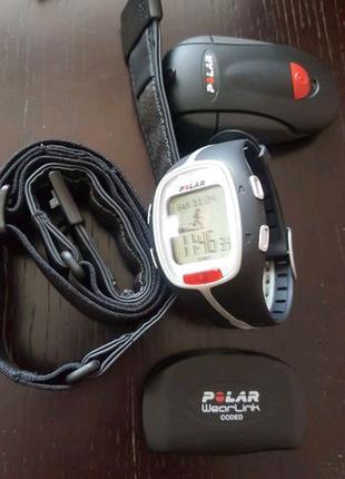 Polar RS200,датчик серцебиття,датчик відстані.